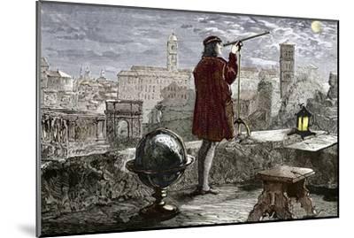 Nicolaus Copernicus, Polish Astronomer-Sheila Terry-Mounted Photographic Print