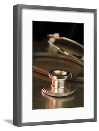 Stethoscope-Lth Nhs Trust-Framed Photographic Print