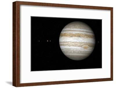 Jupiter, Artwork-Detlev Van Ravenswaay-Framed Photographic Print
