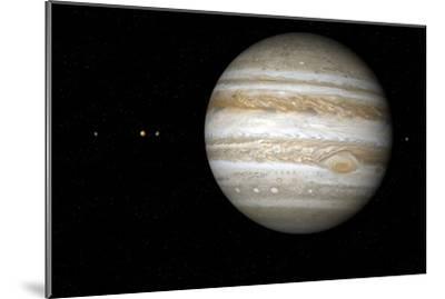 Jupiter, Artwork-Detlev Van Ravenswaay-Mounted Photographic Print