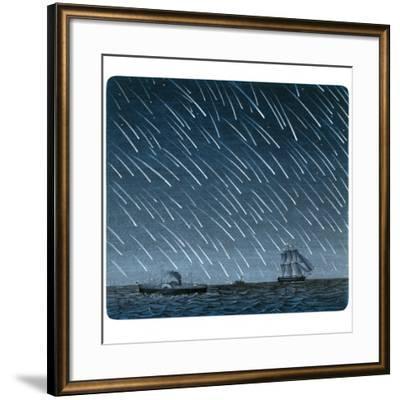 Leonid Meteor Shower of 1866-Detlev Van Ravenswaay-Framed Photographic Print