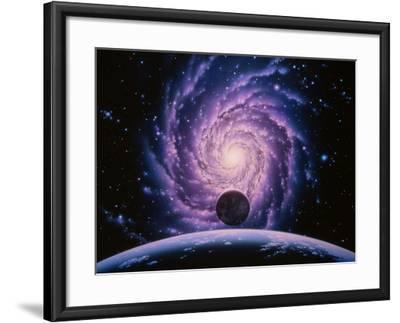 Milky Way Galaxy-Joe Tucciarone-Framed Photographic Print
