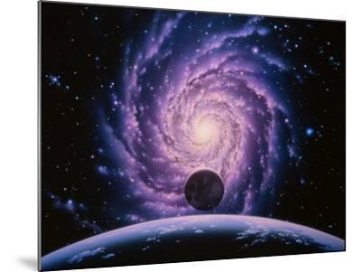 Milky Way Galaxy-Joe Tucciarone-Mounted Photographic Print