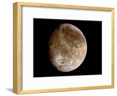 Jupiter's Moon Ganymede--Framed Photographic Print