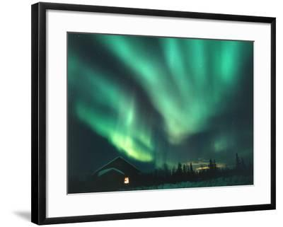 Aurora Borealis-Chris Madeley-Framed Photographic Print