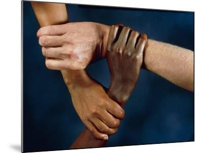 Linked Hands-Tony McConnell-Mounted Photographic Print