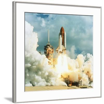 Shuttle Columbia Launch, Mission STS-78, 20.6.96--Framed Photographic Print