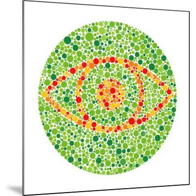Colour Blindness Test-David Nicholls-Mounted Photographic Print