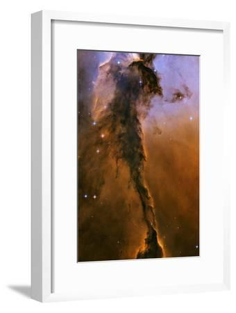 Gas Pillar In the Eagle Nebula--Framed Photographic Print