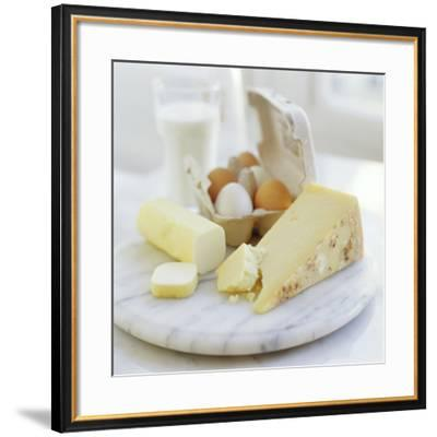 Eggs And Cheese-David Munns-Framed Photographic Print