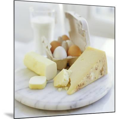 Eggs And Cheese-David Munns-Mounted Photographic Print