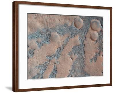 Antoniadi Crater, Mars, Satellite Image--Framed Photographic Print