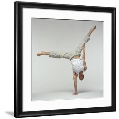 Yoga Pose-Tony McConnell-Framed Photographic Print