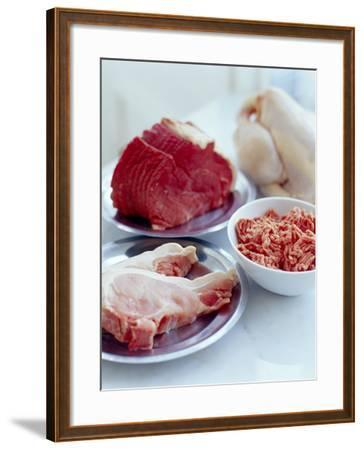 Assorted Meats-David Munns-Framed Photographic Print