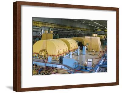 Leningrad Nuclear Power Station-Ria Novosti-Framed Photographic Print