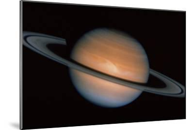 Saturn--Mounted Photographic Print