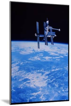 Mir Space Station--Mounted Photographic Print
