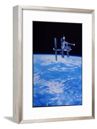 Mir Space Station--Framed Photographic Print
