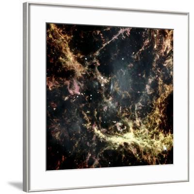 Crab Nebula Gas Filaments--Framed Photographic Print