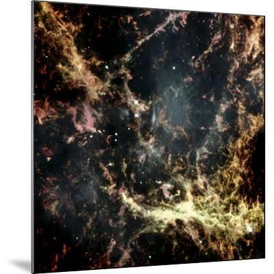 Crab Nebula Gas Filaments--Mounted Photographic Print