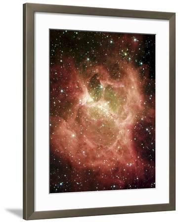 DR6 Nebula--Framed Photographic Print