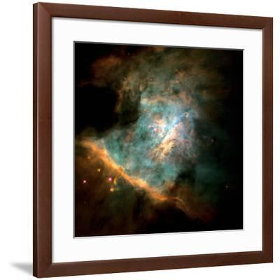 Orion Nebula--Framed Photographic Print