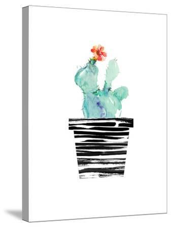 Petit Cactus-Dakota London-Stretched Canvas Print