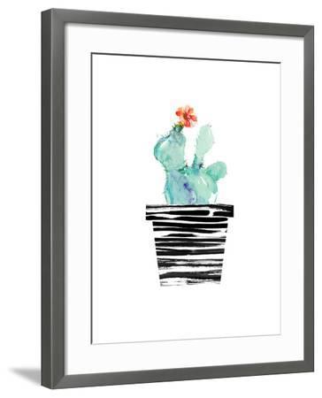 Petit Cactus-Dakota London-Framed Art Print