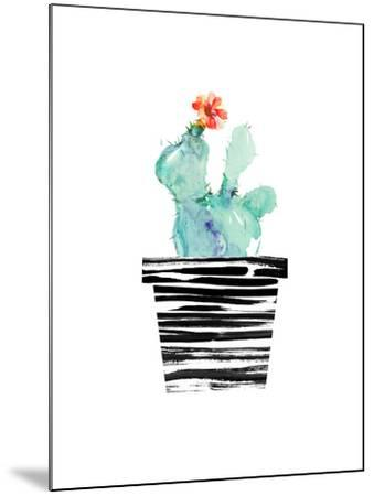Petit Cactus-Dakota London-Mounted Art Print