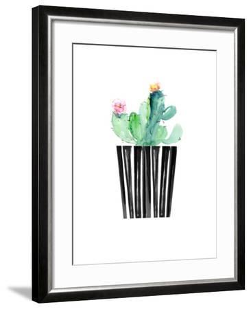 Nice Cactus-Dakota London-Framed Art Print