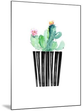 Nice Cactus-Dakota London-Mounted Art Print