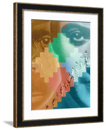 Evolution-Hans-ulrich Osterwalder-Framed Photographic Print