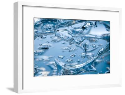 Bubbles In Gel-like Liquid-PASIEKA-Framed Photographic Print