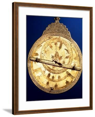 Brass Astrolabe From the Middle Ages-David Parker-Framed Photographic Print