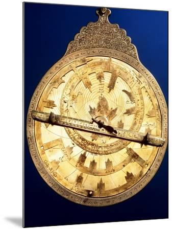 Brass Astrolabe From the Middle Ages-David Parker-Mounted Photographic Print