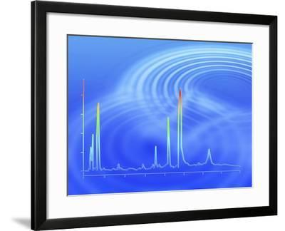 Chromatogram, 2D View-PASIEKA-Framed Photographic Print