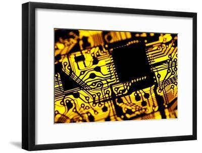 Printed Circuit Board, Artwork-PASIEKA-Framed Photographic Print