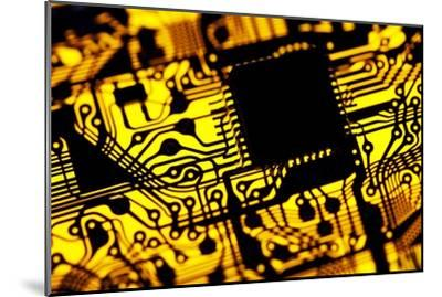 Printed Circuit Board, Artwork-PASIEKA-Mounted Photographic Print