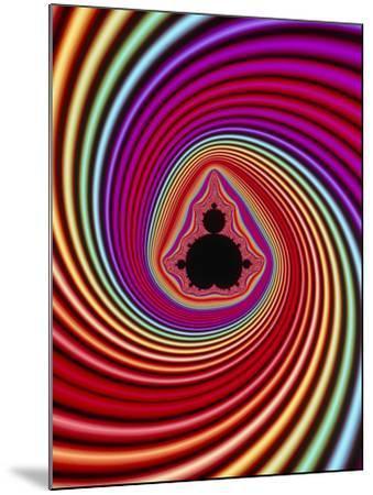 Fractal Image of the Mandelbrot Set-PASIEKA-Mounted Photographic Print
