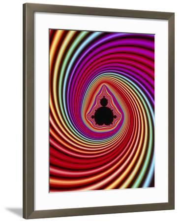 Fractal Image of the Mandelbrot Set-PASIEKA-Framed Photographic Print