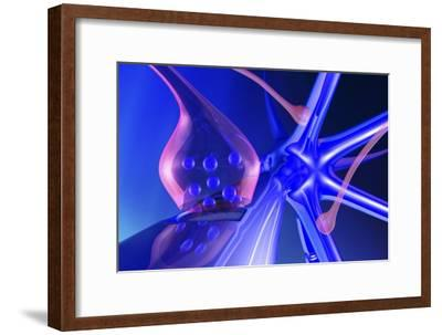 Nerve Synapse-PASIEKA-Framed Photographic Print
