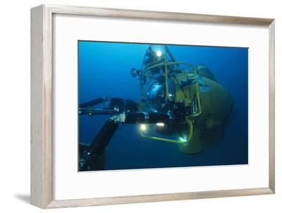 Navy Submersible-Alexis Rosenfeld-Framed Photographic Print