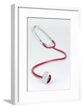 Stethoscope-Paul Rapson-Framed Photographic Print