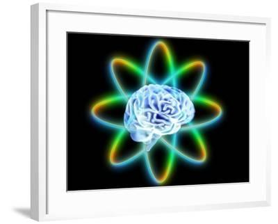 Atomic Brain-PASIEKA-Framed Photographic Print