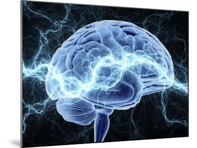 Human Brain, Conceptual Artwork-PASIEKA-Mounted Photographic Print