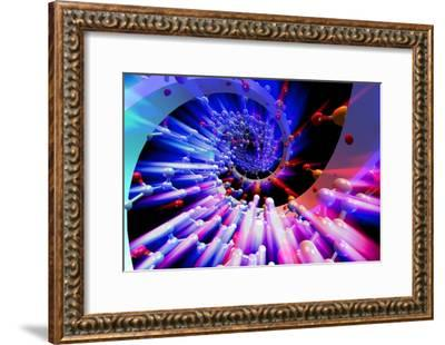 DNA Helix-PASIEKA-Framed Photographic Print