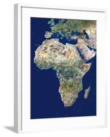 Africa-PLANETOBSERVER-Framed Photographic Print