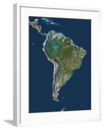 South America-PLANETOBSERVER-Framed Photographic Print