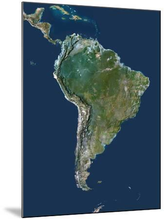 South America-PLANETOBSERVER-Mounted Photographic Print