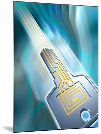 Electronic Data Security-PASIEKA-Mounted Photographic Print